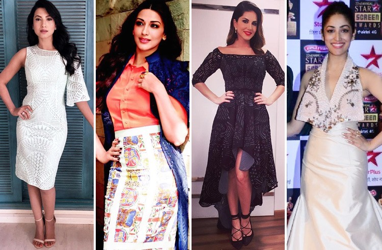 Celebs in Shivani Colletion