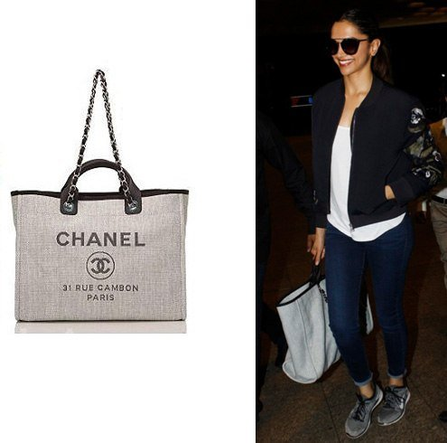Deepika Padukone Chanel Bag
