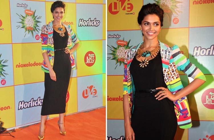 Deepika Padukone in Quirk Box