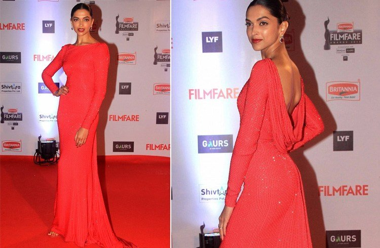 Deepika Padukone in Ralph and Russo gown