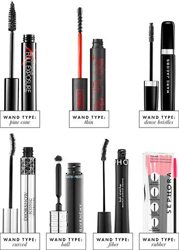 Different Mascara Wands