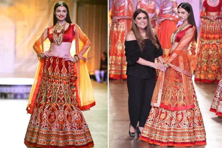 Divya Khosla Kumar For Reynu Tandon At ICW 2016