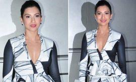 Gauhar Khan in Shivani Awasty Pant Suit