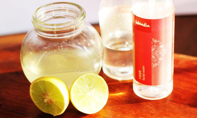 Glycerine Lime And Rosewater Mask