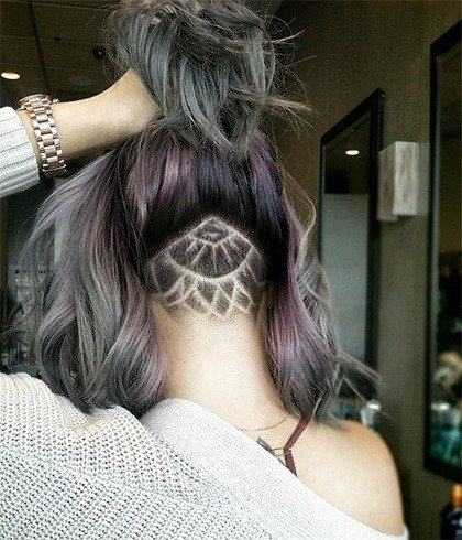 Hair Tattoo For Girl