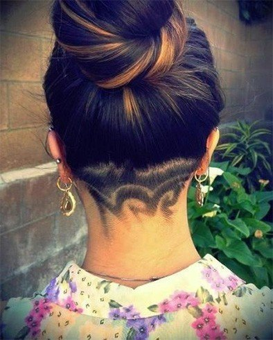 Hair Tattoo For Ladies