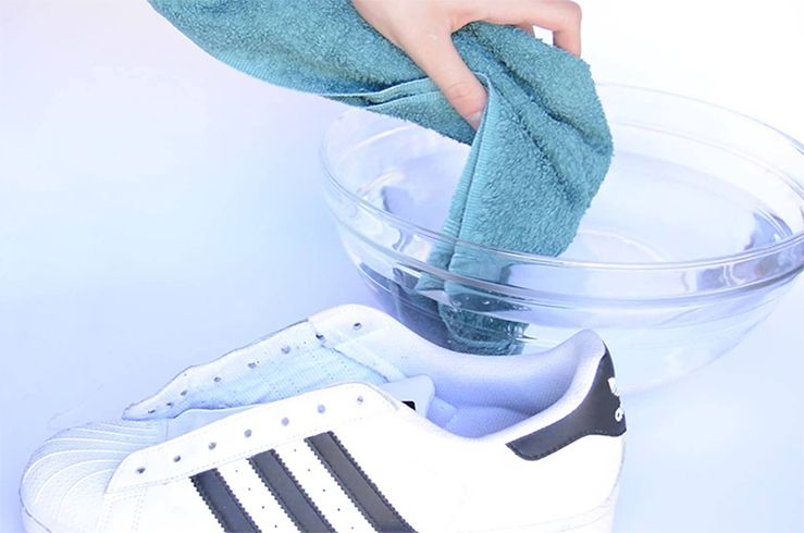 How To Wash White Shoes