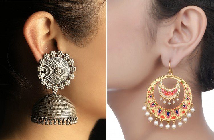 Jhumkas and Chandbalis