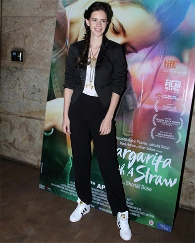 Kalki Koechlin in White Sneakers
