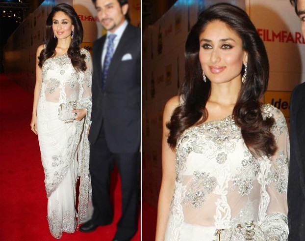 Kareena Kapoor In White Saree
