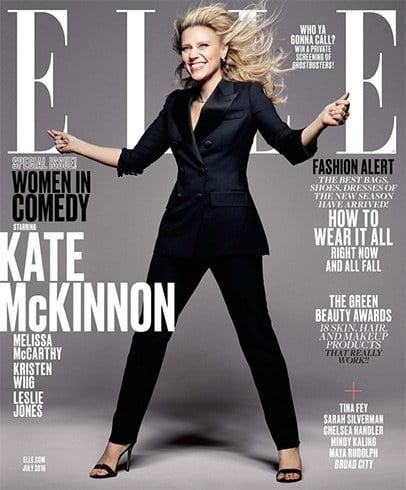 Kate McKinnon on Elle July 2016