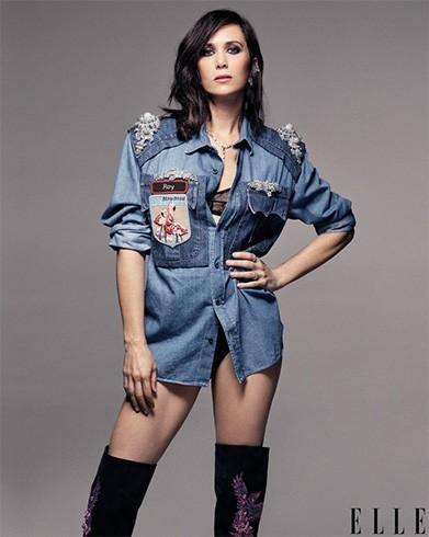 Kristen Wiig on Elle July 2016 Photoshoot