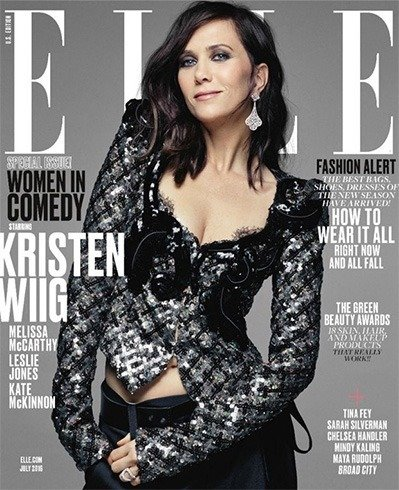 Kristen Wiig on Elle July 2016