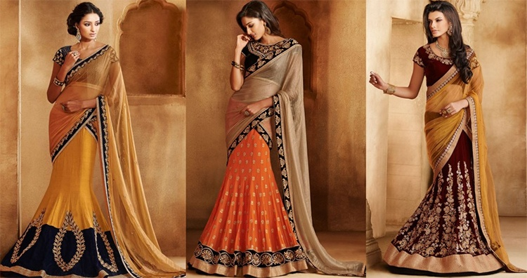Lehenga Saree Designs