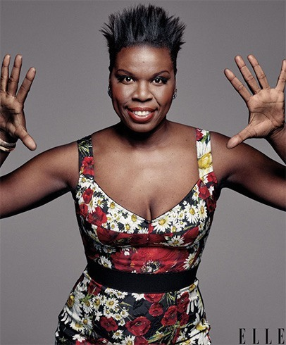 Leslie Jones Elle July 2016 Photoshoot