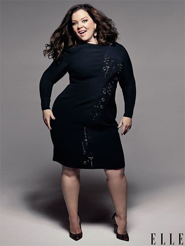 Melissa McCarthy Elle July 2016 Photoshoot