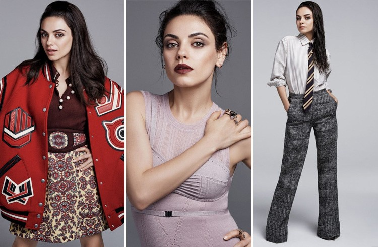 Mila Kunis Glamour US August 2016 Photoshoot