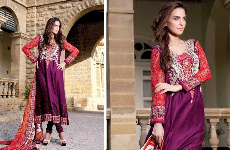 Pakistani Ethnic Dresses 2016
