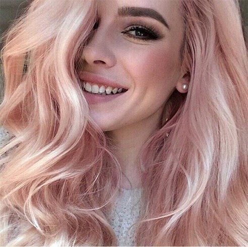 Streak It Or Go Global! Pastel Hair Color Trends For Fashionistas ...