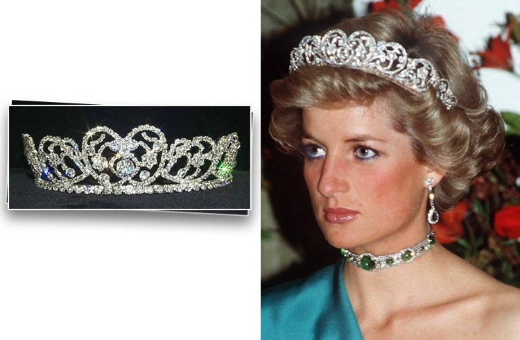 Princess Diana Crown Jewels