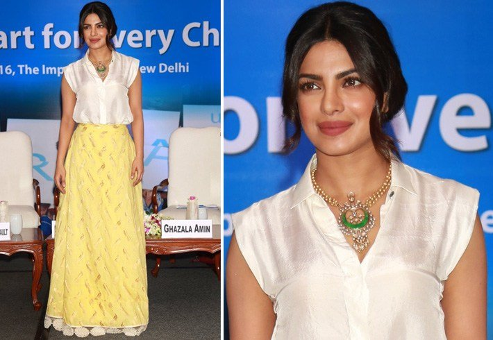 Priyanka At UNICEF Event