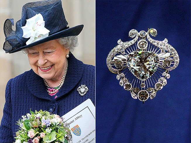 Queen Elizabeth Brooch