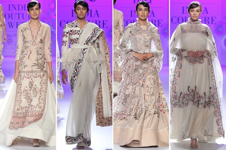 Rahul Mishra At 2016 India Couture Week