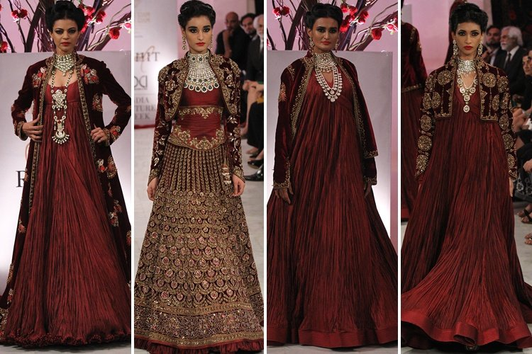 Rohit At 2016 India Couture Week