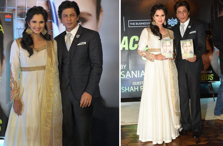 Sania and SRK