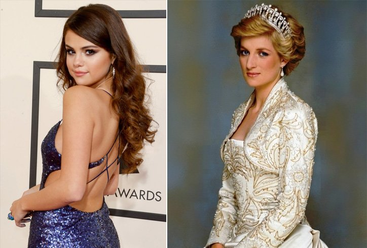 Selena Gomez and Princess Diana
