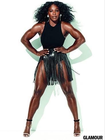 Serena Williams Glamour July 2016 Photoshoot