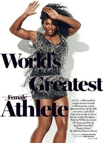 Serena Williams Glamour July 2016 Magazine