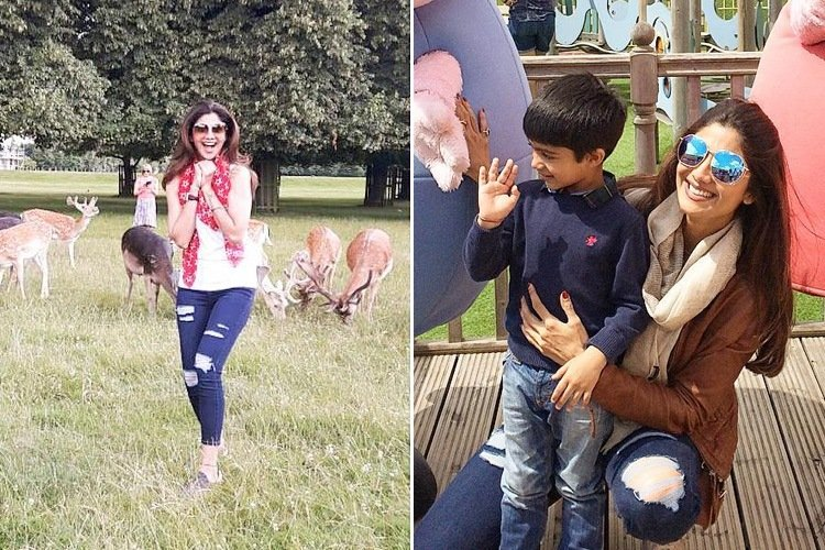 shilpa-shetty-london-vacation