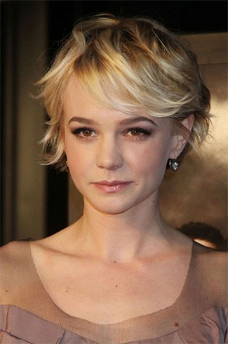 Short Soft Blonde Bob