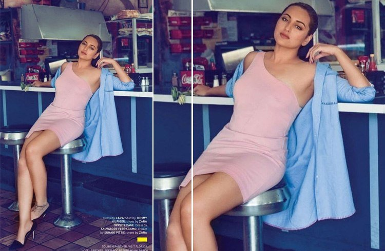 Sonakshi MW July 2016 Magazine Photoshoot