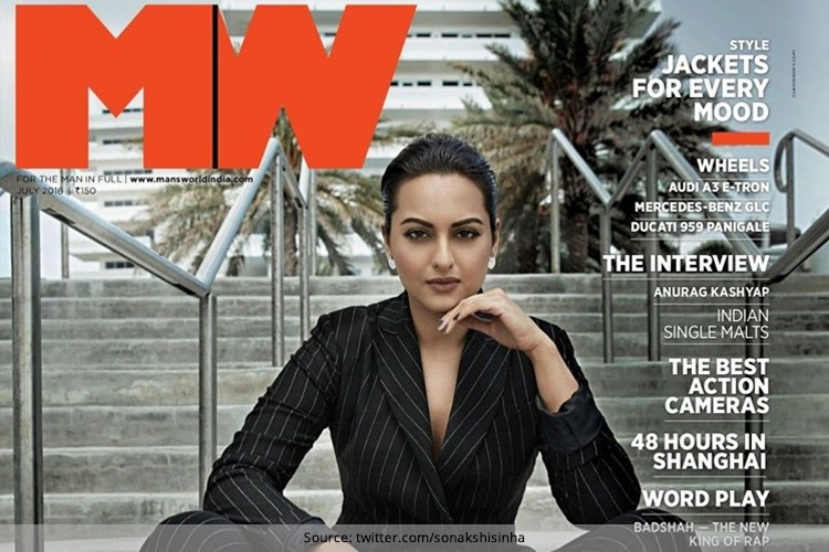 Sonakshi Sinha on MW magazine July 2016