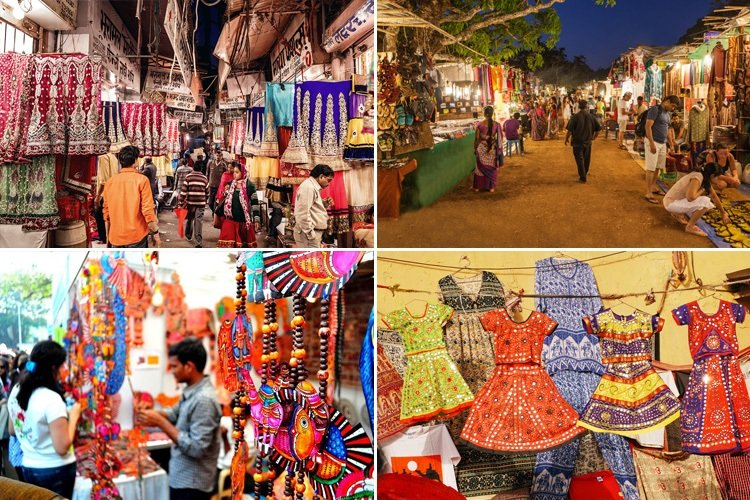 Best Street Shopping Places In India