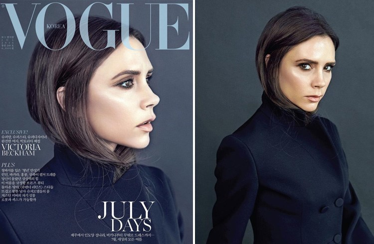 Victoria Beckham on Vogue July 2016 Korea Magazine
