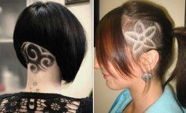 Womens Hair Tattoo Designs