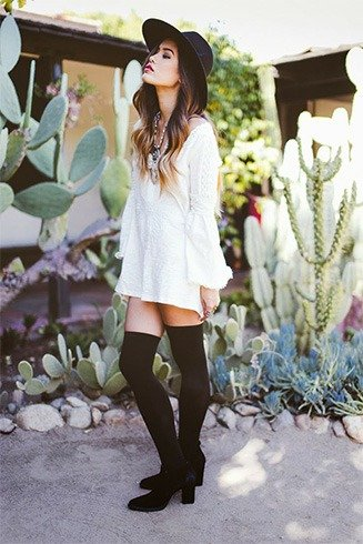 Women Thigh High Socks
