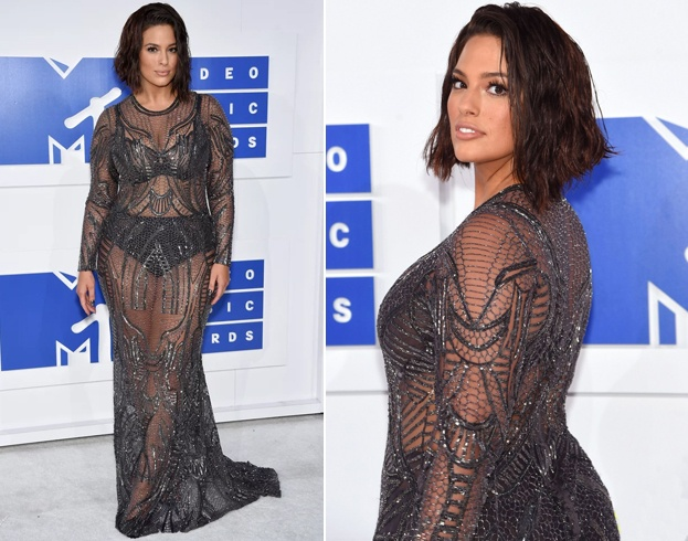 Ashley Graham At Vmas 2016