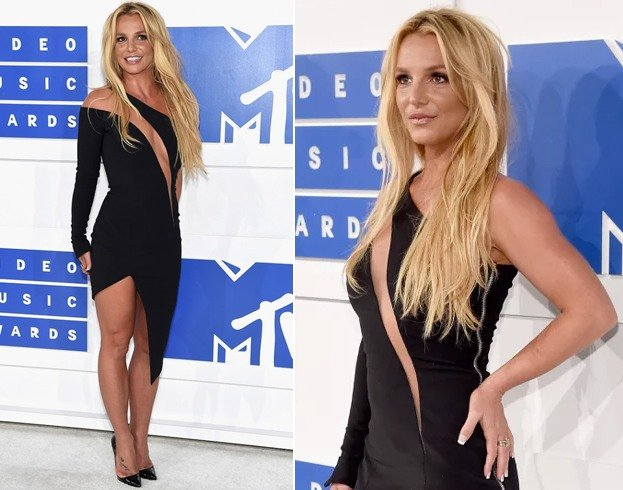 Britney Spears At Vmas 2016