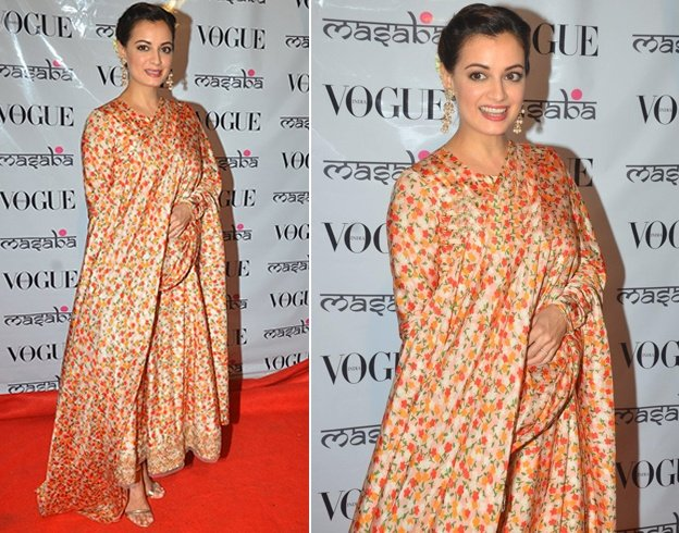 Dia Mirza At Masaba Gupta Festive Collection