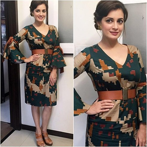 Dia Mirza Cord Outfit