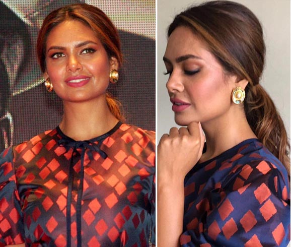 Esha Gupta Outhouse Earrings