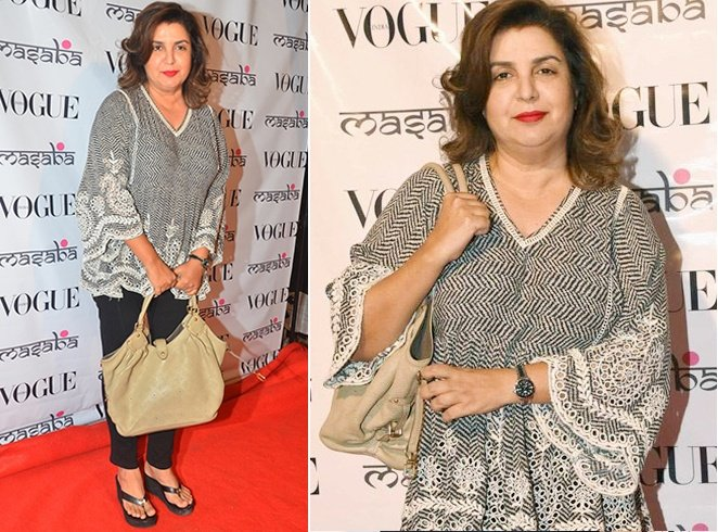 Farah Khan At Masaba Gupta Festive Collection