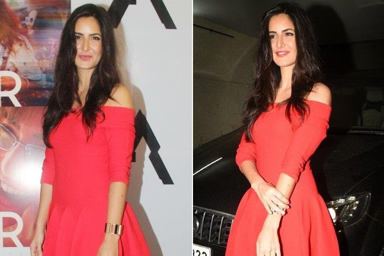 Katrina Kaif At Baar Baar Dekho Trailer Launch