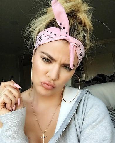 Khloe Kardashians fashion