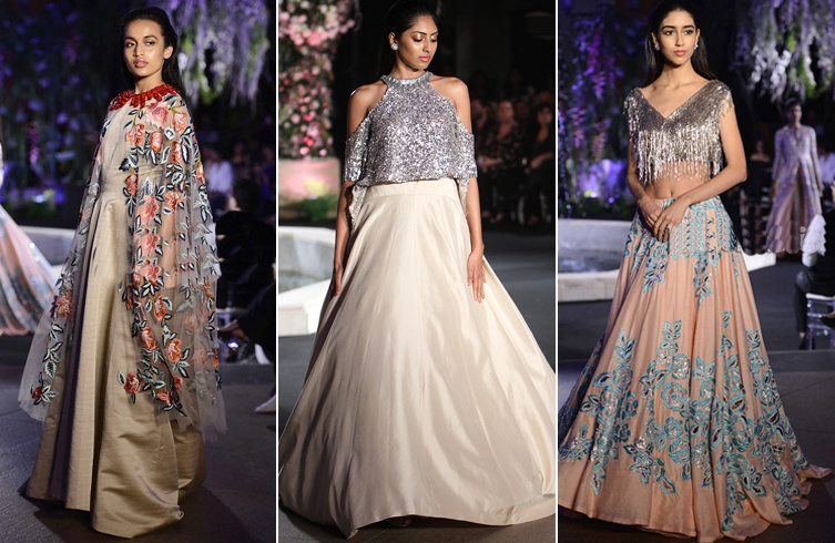 Manish Malhotra Collections At Lakme Fashion Week