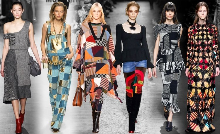 Patchwork Trend Fashion Ss